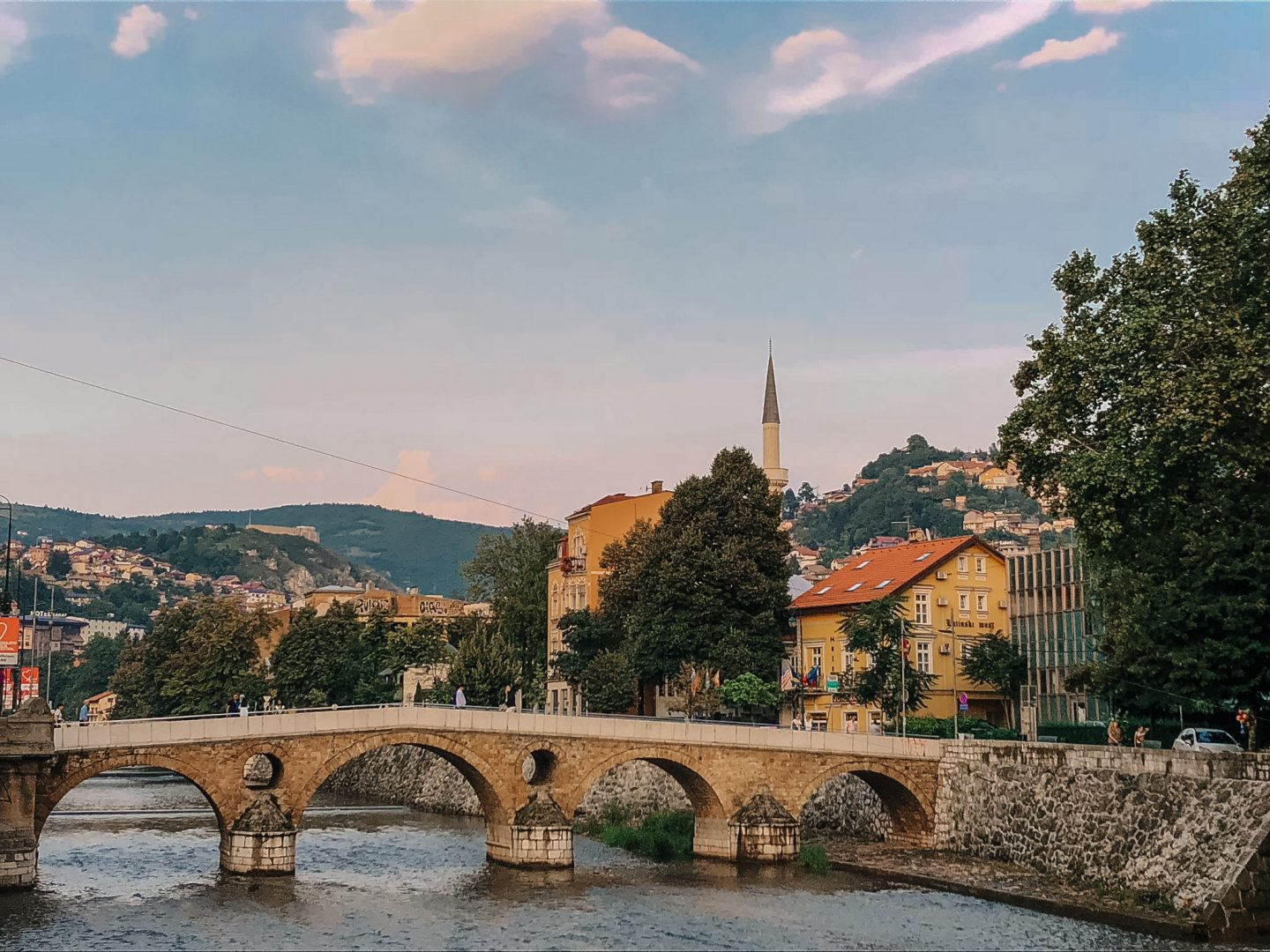 Stop in Sarajevo, a must do when on holidays on the Balkans