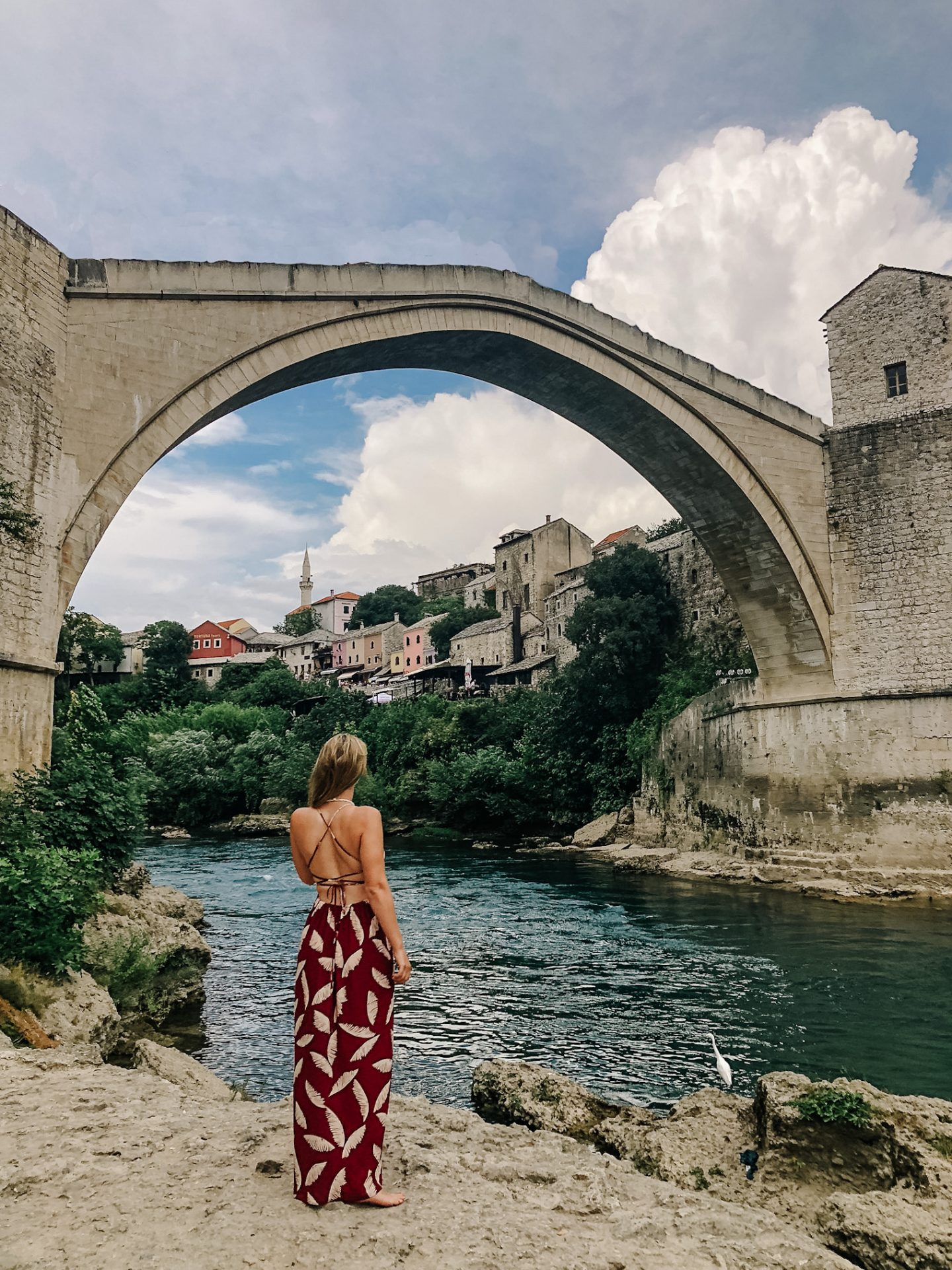 Mostar bridge is a must see when on holidays in Dubrovnik