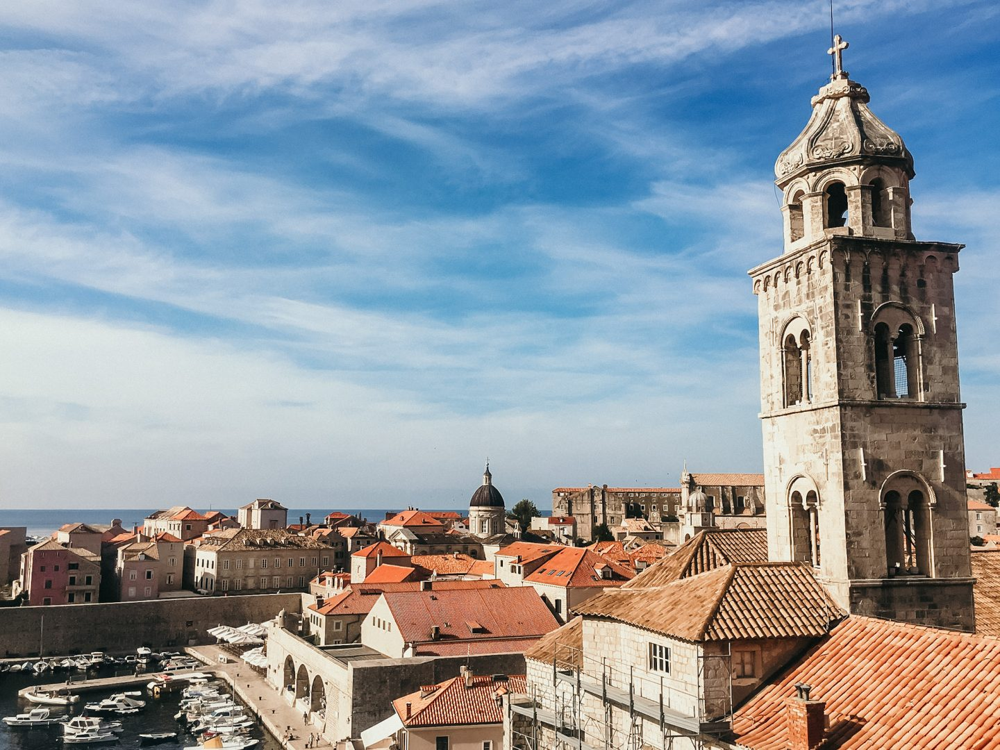 Visiting Dubrovnik on our holidays through the Balkans