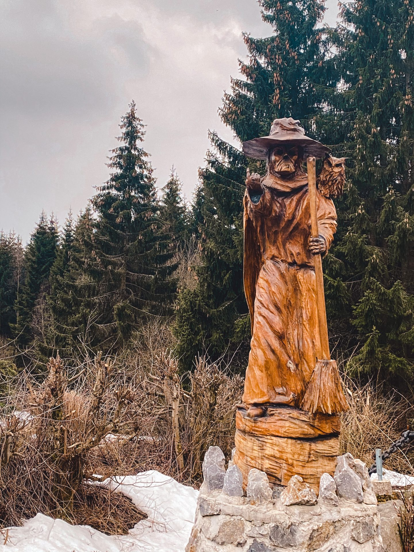 Witch as common in the Harz Mountains